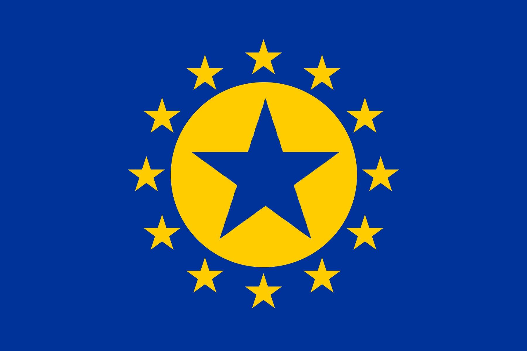 Flagge der Europäischen Föderation